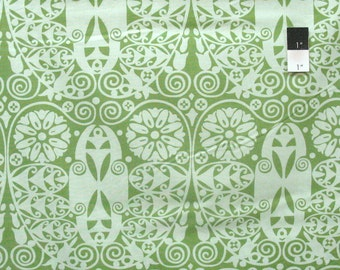 Amy Butler AB60 Soul Blossoms Temple Doors Basil Cotton Fabric By The Yard