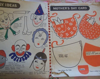 fun vintage craft book