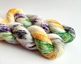 CACKLE - Hand Dyed Yarn - Signature Merino Nylon Sock Yarn Fingering - Ready to Ship - Vivid Yarn Studio