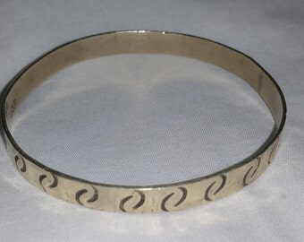 Made in Mexico vintage bangle