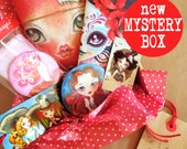 NEW Mystery Box filled with assorted goodies, Bundle Box, Gift Box featuring the work of Sandra Vargas