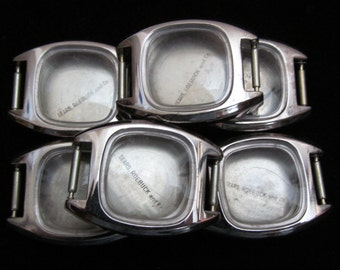 Steampunk Matching Watch Cases NOS Vintage Antique Altered Art Industrial AR 48
