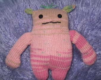 Wonky Knitted Monster