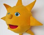 Apollo Sun Hand Puppet or Pillow