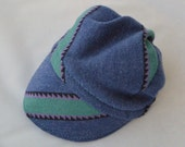Rad Baby Bike Cap from Upcycled Soft Cotton Knit for Bike Baby Gift