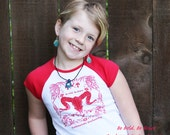 Be Brave, Be Bold, Rockstarlette Bowhunting Youth Cap Sleeve T Shirt