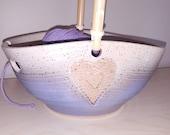 Heart Yarn Bowl