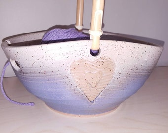 Heart Yarn Bowl