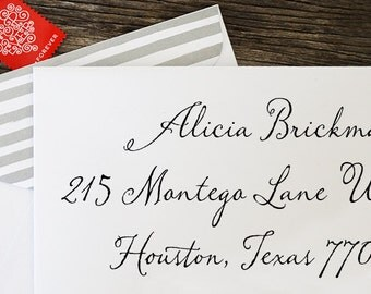 Address Stamp, Self Inking Return Address Stamp, Return Address Stamp Self Ink, Custom and Personalized Stamp, Wedding Gift - 1028