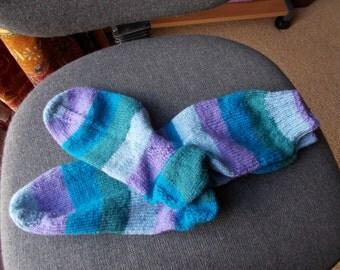 knitted wool socks, Unisex knitted socks,/ Ladies knitted socks,/ Mans knitted socks