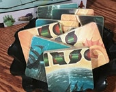 KANSAS recycled Point of Know Return album cover coaster set
