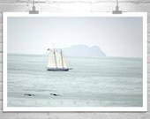 Nautical Art, Sailboat Art, Coronado Island, San Diego Photograph, Ocean Photography, Sailing Ships, California Coast, Tall Ships