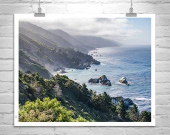 Big Sur, California Art, Carmel by the Sea, Seascape Photo, Coastal Art, California Coast, MurrayBolesta, Pacific Coast, Highway 1