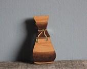 Chemex Coffee Pot Wooden Lasercut Brooch