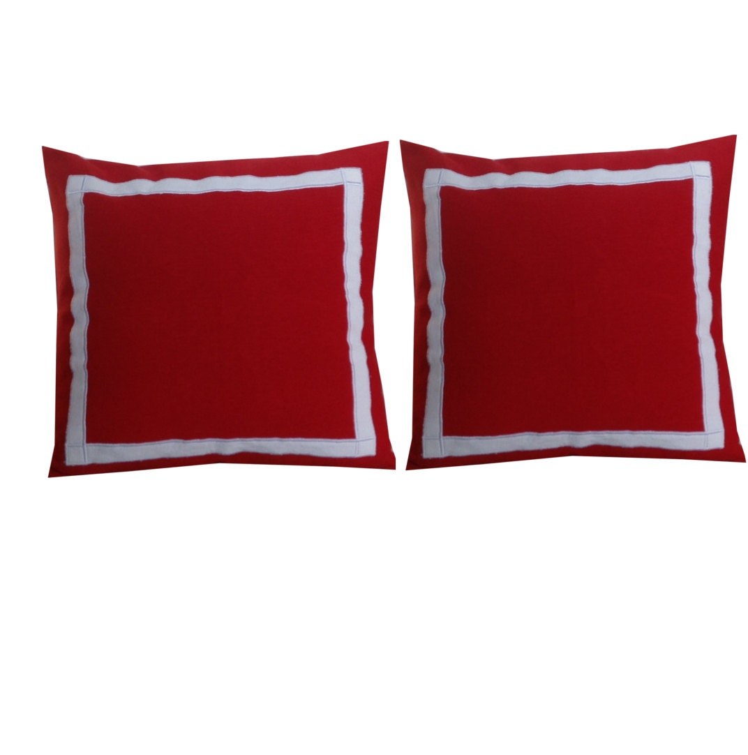 Throw Pillow Trim : 30% OFF Trim Pillows Bedroom Pillows Red Throw Pillows