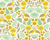 Victorian Afternoon Gold//Park Life//Elizabeth Olwen//Cloud 9//Organic Cotton