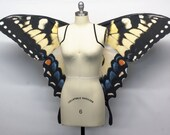 Large Swallowtail Butterfly Wings Costume, Butterfly Halloween Costume Eastern Tiger Swallowtail festival fashion