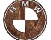 Wooden BMW Ornament