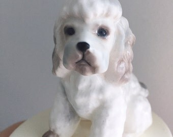 Love My Poodle figurine, by George Good. Ceramic. Cute!