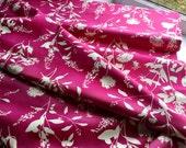 1 yard - Joel Dewberry - Home Decor Fabric - Ginseng - Wildflowers Pink