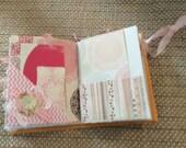 Journal mini junk handmade