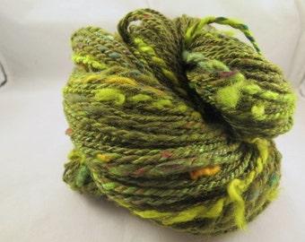 Handspun Worsted Weight Yarn - Tallow