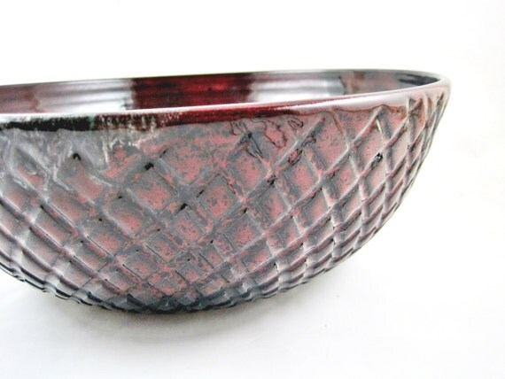 9th Anniversary Pottery For Wedding: Serving Bowl- 9th Anniversary