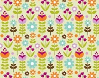 Riley Blake Matryoshka Russian Doll Fabric Floral
