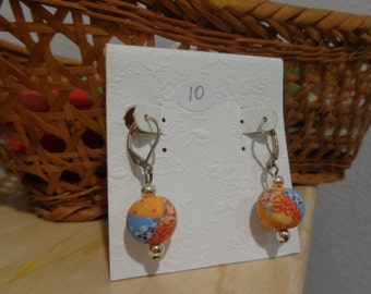 Multicolor dangle earrings