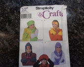 Simplicity crafts fleece accessories pattern
