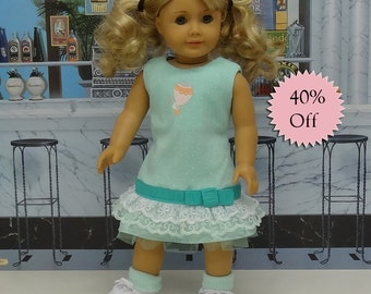 Up and Away - Tank dress for American Girl doll **Sale**