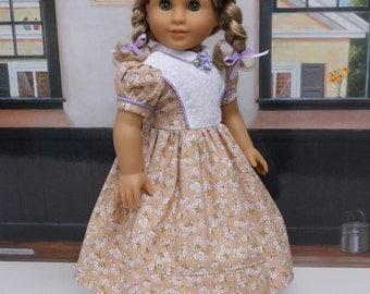Prairie Wildflower - Civil War or Prairie dress for American Girl doll