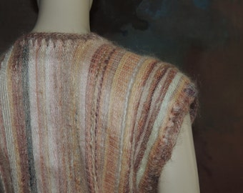 Pure Mohair Handcrafted Vest in Swaziland S to M