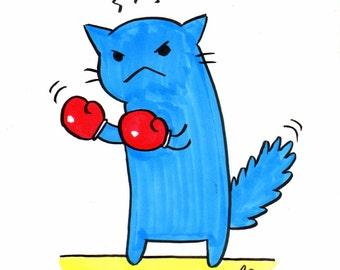 Flimsy Kitten portraits - single