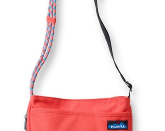 Monogrammed Kavu Rope Bags - Sidewinder - Fire Water - Great gift for College, Teens, Women, Outdoors Satchel Crossbody Tote