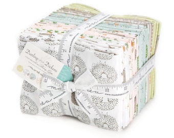 Darling Little Dickens Fat Quarter Bundles by Lydia Nelson of Dreamy Quilts Free Domestic Shipping