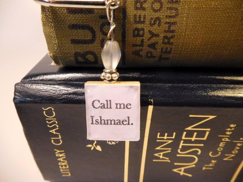 Moby Dick CALL ME ISHMAEL Bookmark / Herman