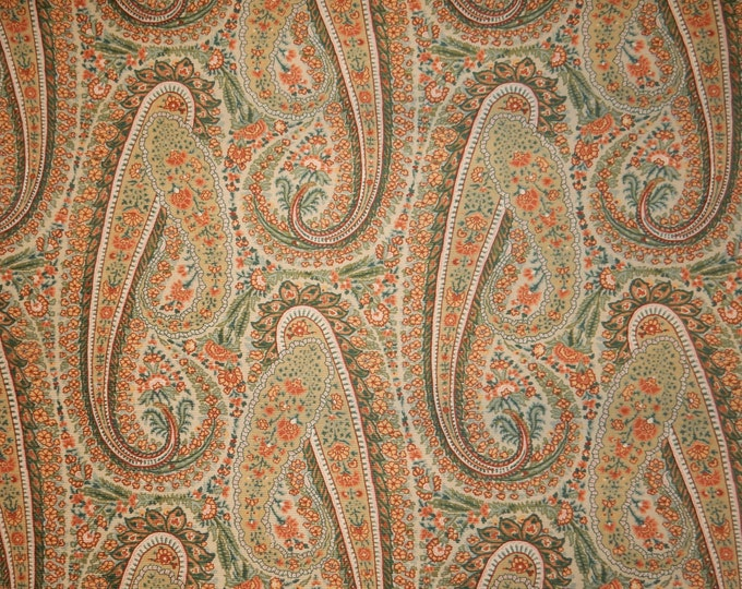Monroe Paisley Fabric For Upholstery Home Decor Crafts Costume