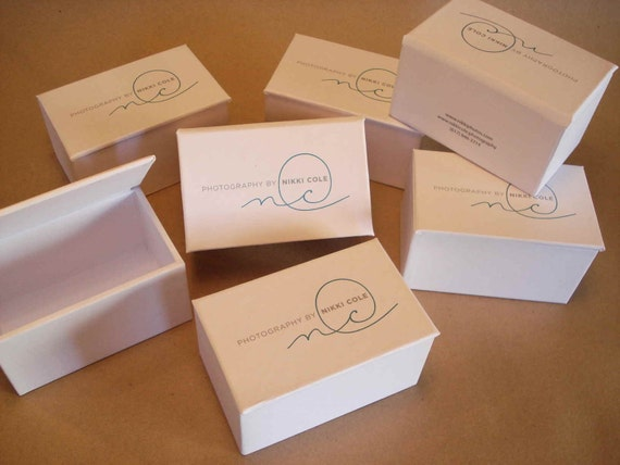 25 USB boxes for Nikki Cole