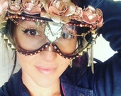 "Burning Man Goggles ""Dusty Rose"""