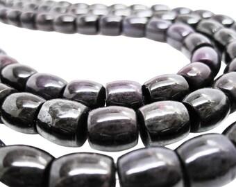 Sugilite Beads, Sugilite Barrels, AAA Grade Sugilite, Purple Gemstone Beads, SKU 4434A