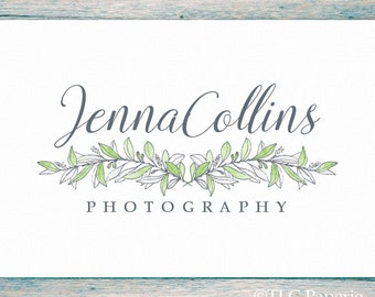 Premade Logo Design, Photography Logo, Custom Logo,  Soap  Logo, Business Logo, Soap Logo, Flower Logo, Floral Logo, Wedding Logo