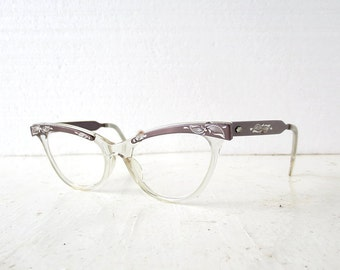 Cat Eye Frames | 50s Glasses | Vintage Eyeglasses