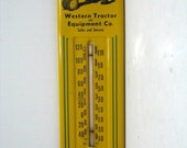 John Deere Advertising Thermometer Western Tractor & EquipTacoma Wa. Model A