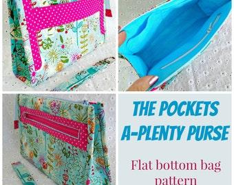 Pockets-A-Plenty Purse - PDF Sewing pattern