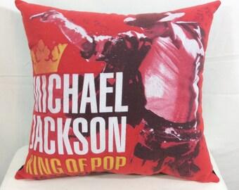 Decorative Pillow, Sofa Pillow, Throw Pillow, Bed Pillow, Couch Pillow, Decorative Bed Pillow, Michael Jackson, Accent Pillow