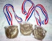 Girls Gymnastics Medal Neclaces