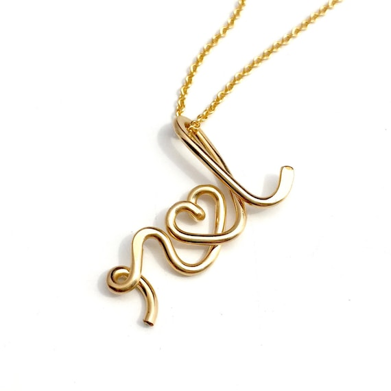 The Original Two Lovers - Personalized Initials Necklace -engagement, wedding, bridal, anniversary, lovers jewelry, couples jewelry