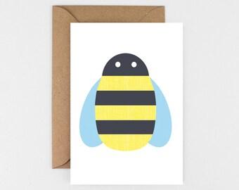 Buzzy Bee Card