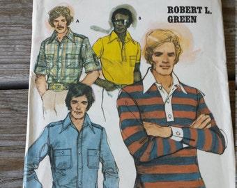 Butterick  Mens  Shirt Pattern 4712 size Large 44